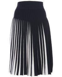 Orley - Midnight Tadanori Pleated Skirt - Lyst