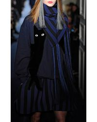 Alexis Mabille Navy Cat Sweatshirt - Blue