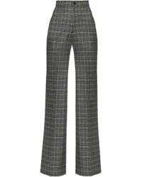 Lena Hoschek - Hustler Cotton-blend Wide-leg Trousers - Lyst