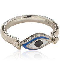 Pamela Love Open Eye Sterling Silver Ring - Metallic