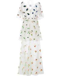 Rosie Assoulin Salad Bar Gown - Multicolour