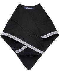 Jacquemus Provencial Oversized Cape - Black