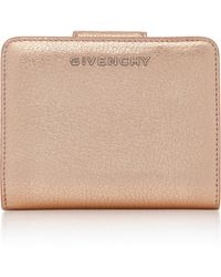 Givenchy | Pandora Compact Zip Leather Wallet | Lyst