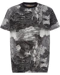 947c8858c60d Burberry - Dreamscape Print Cotton T-shirt - Lyst