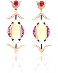 Hanut Singh - Mystical Opal Earrings - Lyst