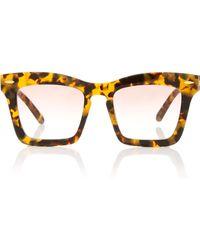 Karen Walker - Banks 51mm Wayfarer Sunglasses - Lyst