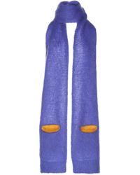 Maison Margiela - Mohair Scarf With Pocket - Lyst