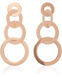 Mattioli - Hula Hoops 18k Rose Gold Earrings - Lyst