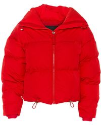 CORDOVA Mont Blanc Quilted Shell Down Bomber Jacket - Red
