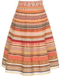 Lena Hoschek - Ribbon A-line Skirt - Lyst