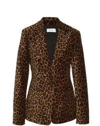 A.L.C. - Mercer Leopard-print Blazer - Lyst