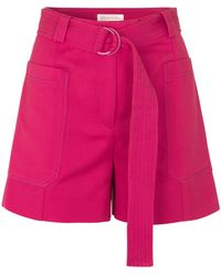Stine Goya Sol Belted Short - Pink