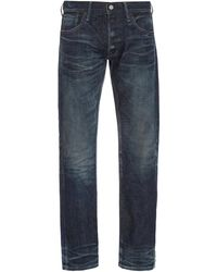 Fabric-Brand & Co. Doran Mid-rise Slim-leg Jeans - Green