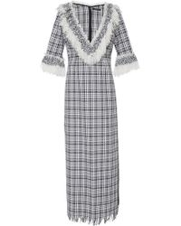 Frederick Anderson - Maxi Basket Weave Tunic - Lyst