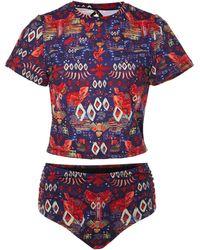 Chufy Hawka Printed Bikini - Multicolor