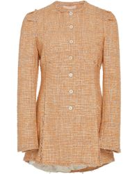 Brock Collection - Paoli Puff Shoulder Tweed Jacket - Lyst