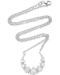 Colette - Moon Necklace - Lyst