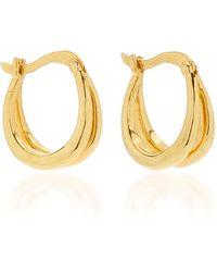 Sophie Buhai 18k Gold Vermeil Double Francois Hoops - Metallic