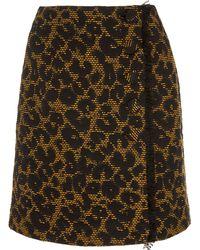 Hofmann Copenhagen Jesmina Leopard Mini Skirt - Multicolour