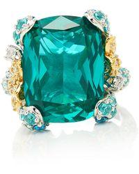 Anabela Chan Paraiba Ocean Ring - Blue