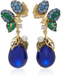 Anabela Chan - Nightberry 18k Gold Multi-stone Earrings - Lyst