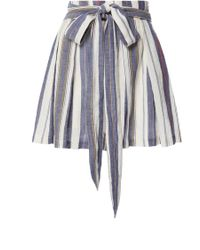 Three Graces London - Kilman Pleated Shorts - Lyst