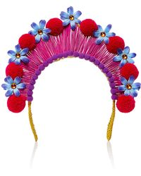 Magnetic Midnight - Pompom Crown - Lyst