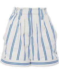 Warm - Day Off Stripe Shorts - Lyst