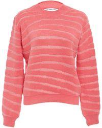 Nanna van Blaaderen Zebra Print Sweater - Pink