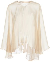 Maria Lucia Hohan - Self String Mousseline Cape - Lyst