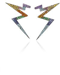 Claudia Oddi - Rainbow Lightning Earrings - Lyst