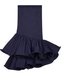 Safiyaa - Nara Ruffled Knee Length Skirt - Lyst