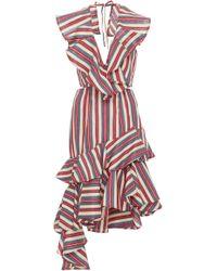 Viva Aviva - Americana Dream Ruffle Dress - Lyst