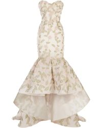 Maison Yeya Alexandrie Embroidered Gown - Pink