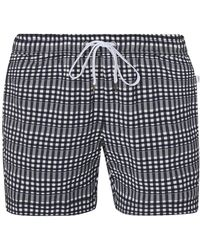 d3b4ffc124dbb Onia Charles 5 Striped Swim Trunks in Blue for Men - Save 8% - Lyst