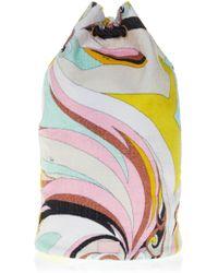 Emilio Pucci - Printed Bucket Bag - Lyst