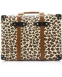 Charlotte Olympia - M'o Exclusive: X Globe-trotter Leopard-print Leather Trolley Case - Lyst