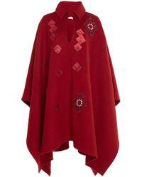 Chufy Arab Embroidered Wool Cape