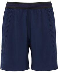 Soar Running - Mesh-paneled Stretch-shell Shorts - Lyst