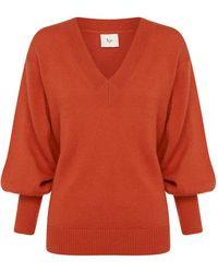 Aje. Imbued Alpaca-blend Knit - Orange