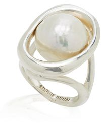 Sophie Buhai Orb Sterling-silver And Pearl Ring - White