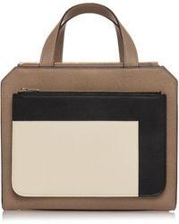 Valextra - Passepartout Medium Grain Leather Bag - Lyst