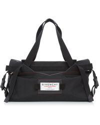 Givenchy Small Shell Duffle Bag - Black