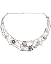 Colette - Star And Moon Choker - Lyst