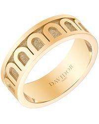 Davidor L'arc 18k Yellow Gold Ring - Metallic