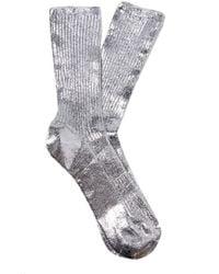 Acne Studios - Tabi Metallic Socks - Lyst