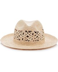 Yestadt Millinery - Wonderlust Woven Straw Hat - Lyst