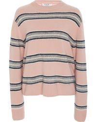 Sea - Salene Striped Cashmere Sweater - Lyst