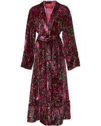 For Restless Sleepers - Nomos Pyjama Robe Dress - Lyst