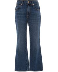 Co. - Cropped Bootcut Jean - Lyst